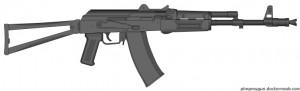 Croatian AK74-Arasaka